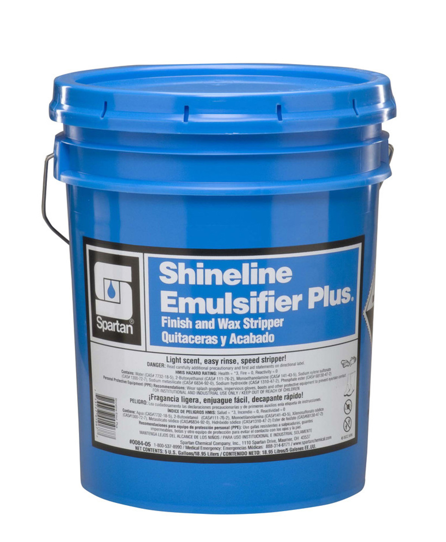 Spartan Shineline Emulsifier Plus, Finish and Wax Stripper, Fresh Lightly Scent