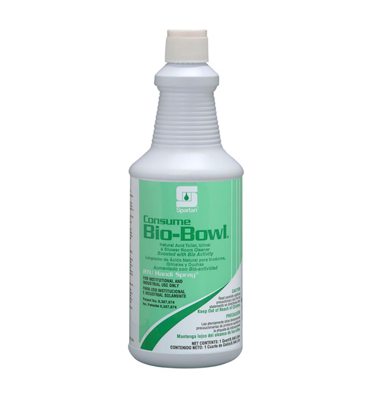 Spartan RTU Consume Bio-Bowl Restroom Cleaner, Aqua Fresh.