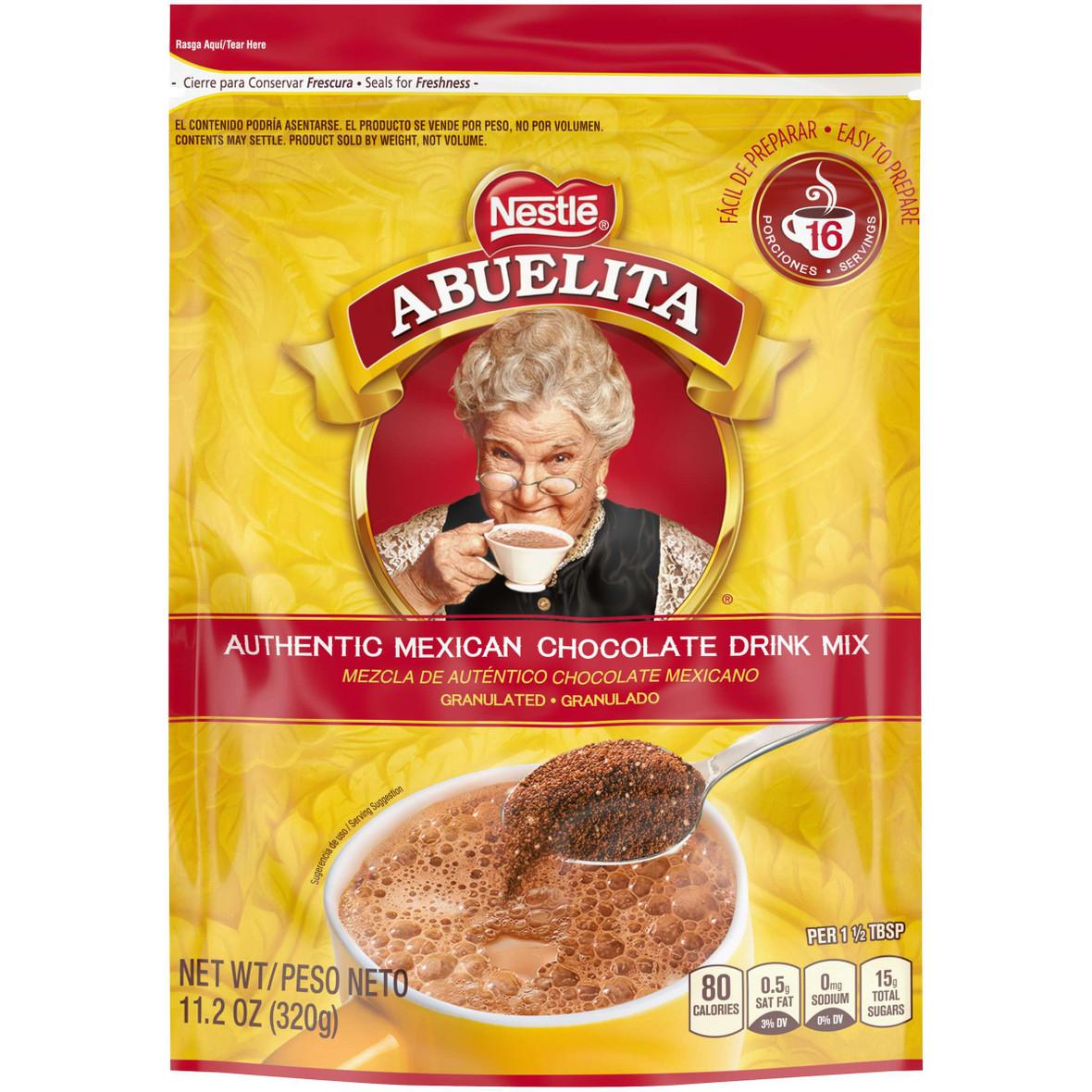 Nestle Abuelita Authentic Granulated Hot Chocolate Drink Mix