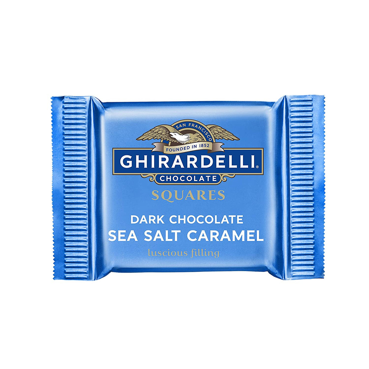 Ghirardelli Dark Chocolate Sea Salt Caramel Squares .53 Oz (Pack of 660)