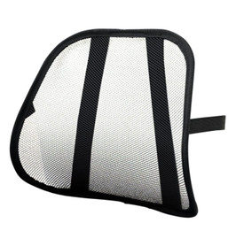 Safco Products Mesh Backrest, Black ,17.5 x 3 x 15