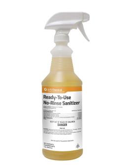 US Chemical No-Rinse Warewashing Liquid Sanitizer