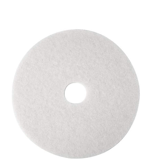 """Brighton Professional 20"""" White Floor Polishing Pad"""