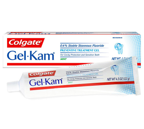 Gel-Kam Fluoride Preventive Treatment Mint 2 pk