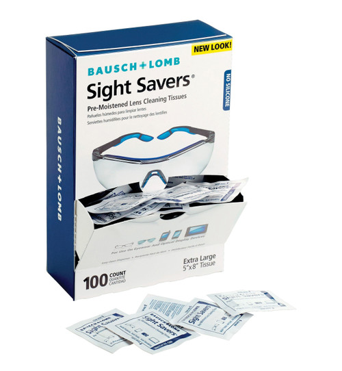 Bausch & Lomb, Inc. Sight Savers Premoistened Lens Cleaning Tissues