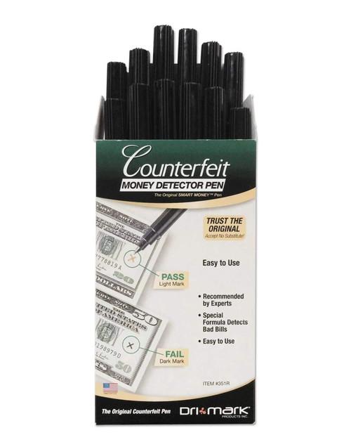 Dri-Mark Smart Money Counterfeit Bill Detector Pen for Useq