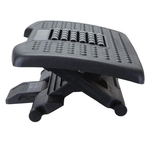 Kantek Premium Adjustable Footrest With Rollers