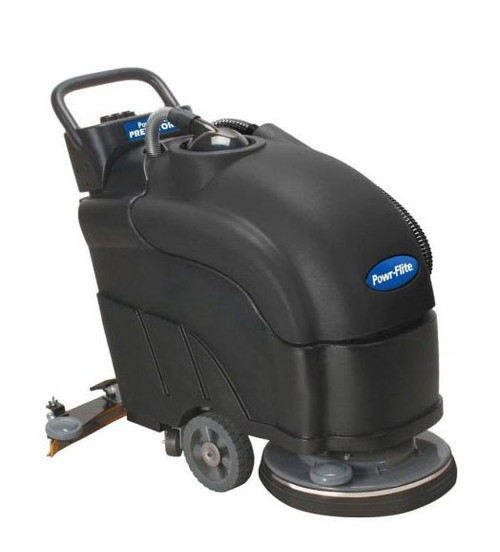 Powr-Flite Predator PAS17BA-BC Battery Powered Automatic Scrubber with Pad Driver