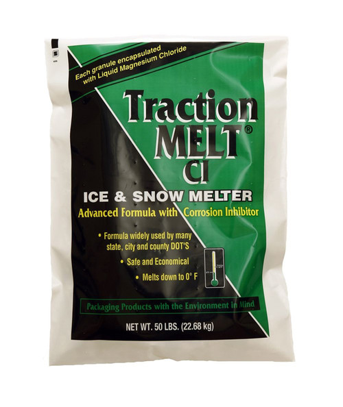 Traction Melt® CI Ice & Snow Melter, Melts Down To 0°F