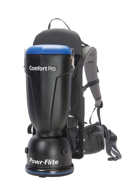 Powr-flite 6 Quart Standard Comfort Pro Backpack Vacuum