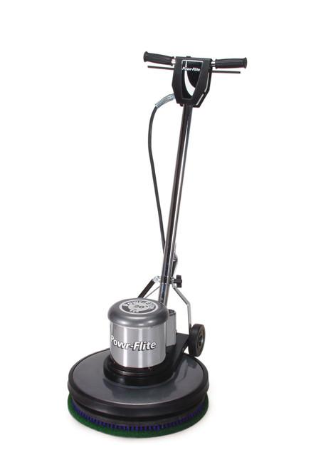 "Powr-Flite 20"" 1.5 HP Classic Metal Dual Speed Floor Machine 175-320 RPM"