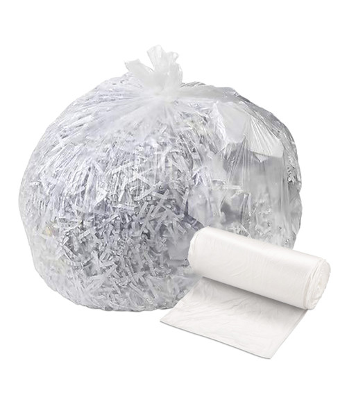 Brighton Professional HDPE Trash Can Liners Coreless Roll, Natural