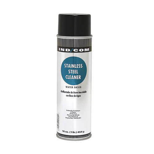 US Chemical IND/COM Aerosol Stainless Steel Cleaner Water Based