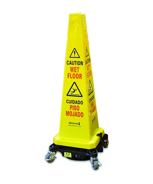 Bissell Hurricone® Cord-Free Battery Operated Caution / Safety Cone Floor Dryer