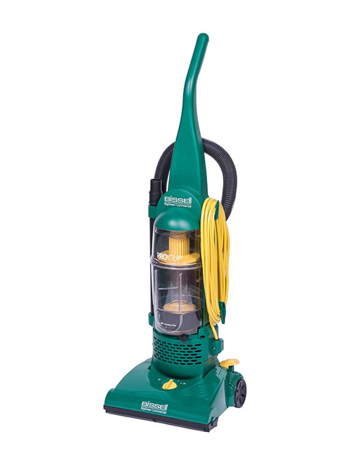 """Bissell BigGreen 13.5"""" Pro Cup Bagless Upright Vacuum with On-Board Tools"""