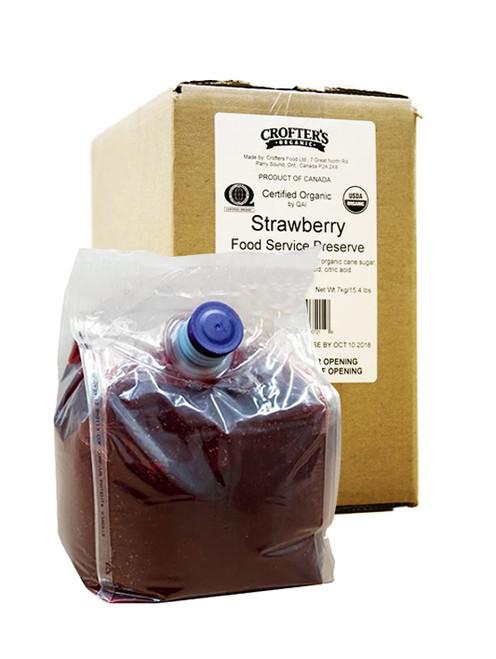 Crofters Organic Jelly Strawberry Food Service Preserve
