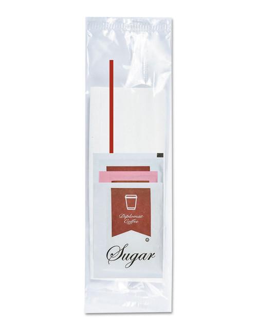 Economy Clear Condiment Kit