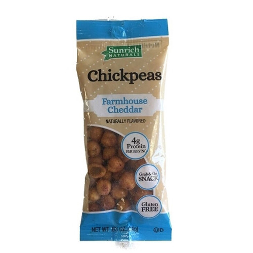 Sunrich Naturals Chickpeas Farmhouse Cheddar