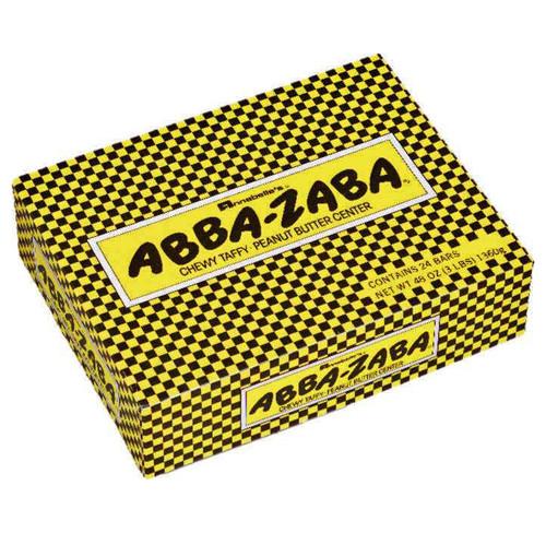 Annabelle's Abba-Zaba Chewy Taffy Candy, Peanut Butter Center