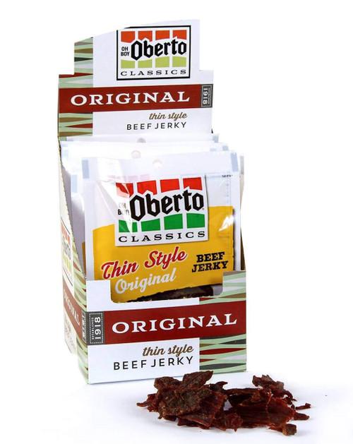 Oh Boy Oberto Thin Style Original Beef Jerky