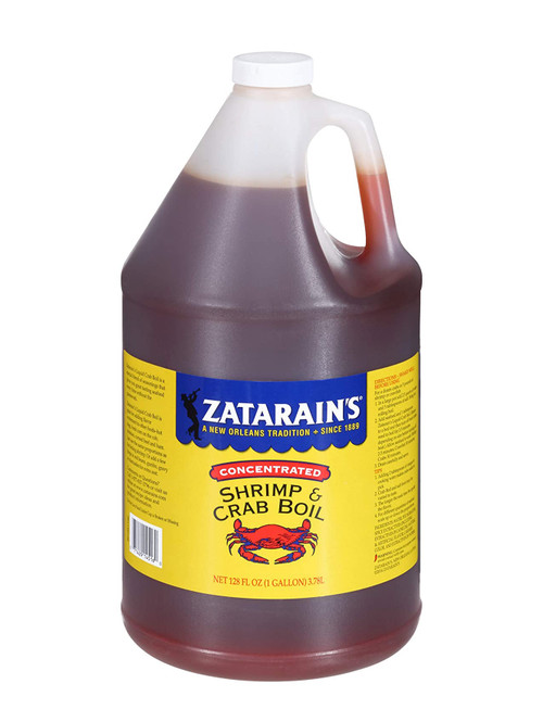 Zatarains New Orleans Style Concentrated Crawfish, Shrimp and Crab Boil, 1 Gallon Jug