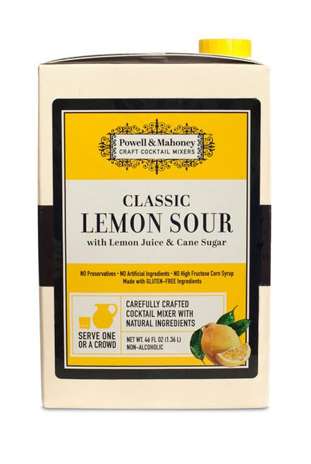 Powell & Mahoney Classic Lemon Sour Cocktail Mix