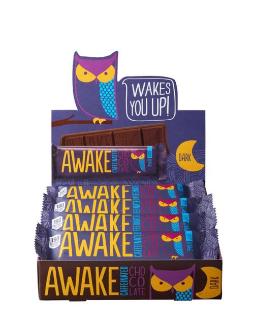 Awake Chocolate Caffeinated Dark Chocolate