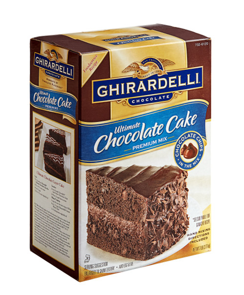 Ghirardelli Ultimate Chocolate Cake Mix
