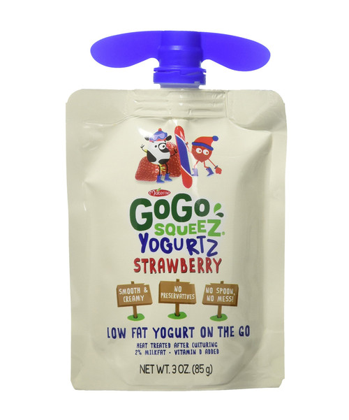 GoGo Squeez Strawberry YogurtZ