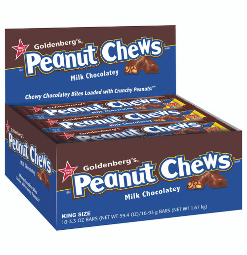 Goldenberg's Peanut Chews Milk Chocolatey, King Size