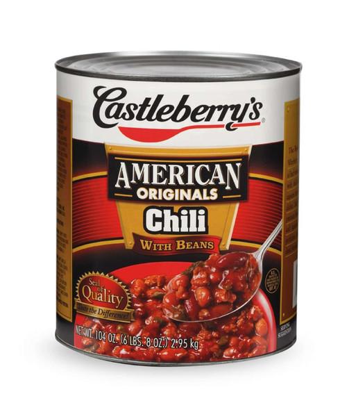 Castleberry's Chili w/ Beans