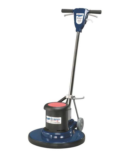 """Renown REN08002-VP 175 RPM 20"""" Low-Speed Floor Machine,  Metal, Blue"""