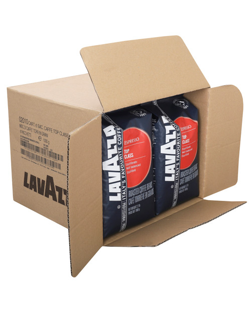 Lavazza Top Class Roasted Coffee Beans, Espresso