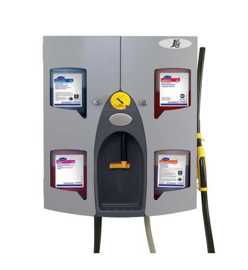 J-Fill QuattroSelect Dispensing System, 4 Dispenser, Gray