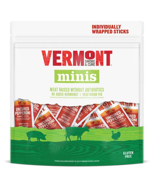 Vermont Smoke & Cure Uncured Pepperoni Turkey Minis