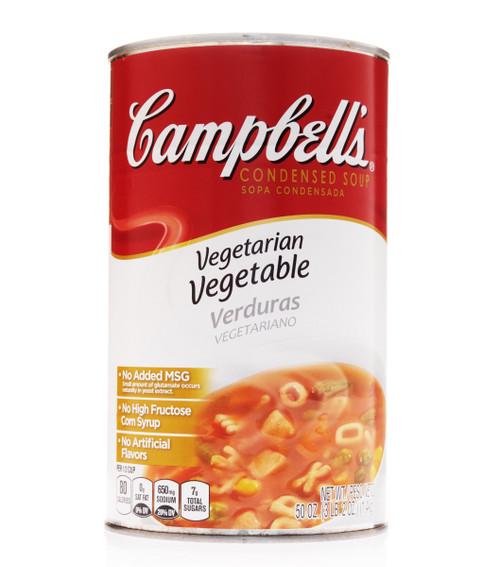 Campbell's Vegetarian Vegetable Alphabet Condensed Soup