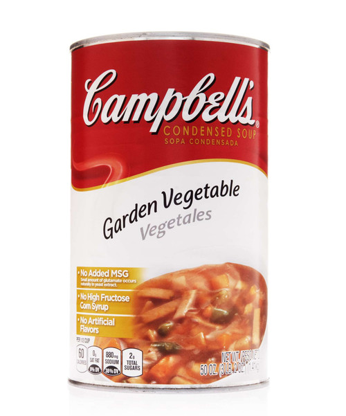Campbell's Classic Garden Vegetable Condensed Shelf Stable Soup