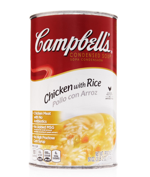 Campbell's Classic Chicken And Rice Condensed Shelf Stable Soup