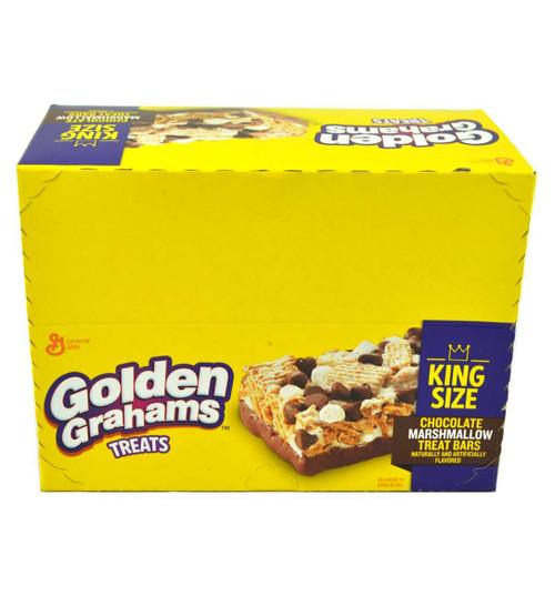 General Mills Golden Grahams King Size Treats Bars, Chocolate Marshmallow