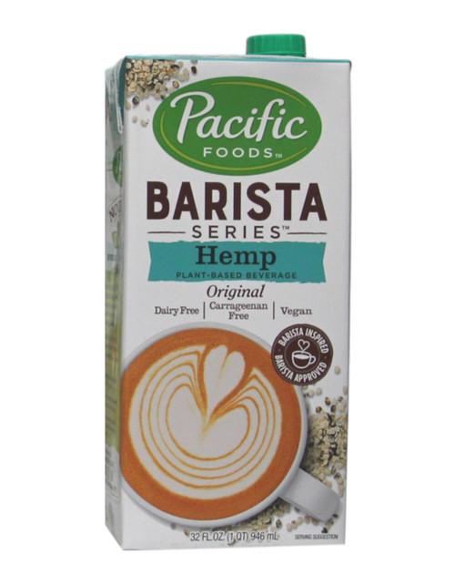 Pacific Foods Barista Series Hemp Original Plant-Based Beverage