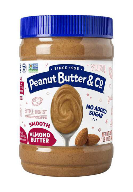 Peanut Butter and Co. No Sugar Added All-Natural Almond Butter