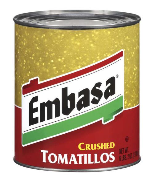 Embasa Crushed Tomatillos #10