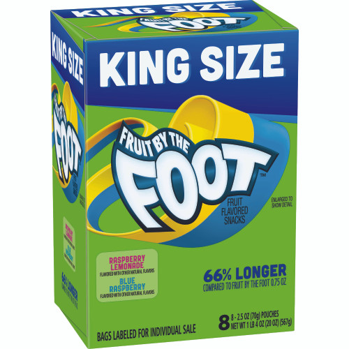 Betty Crocker Fruit By The Foot King Size Fruit Flavored Snacks