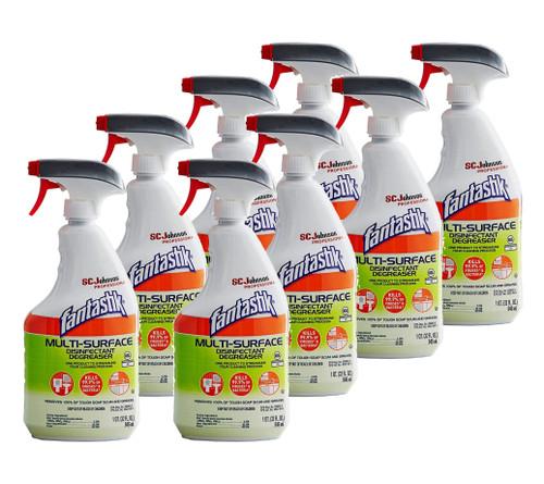 Fantastik Multi-Surface Disinfectant Degreaser, Herbal