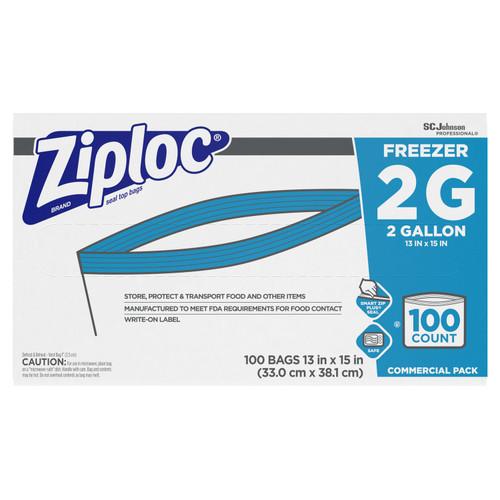 Ziploc Double Zipper Freezer Bags