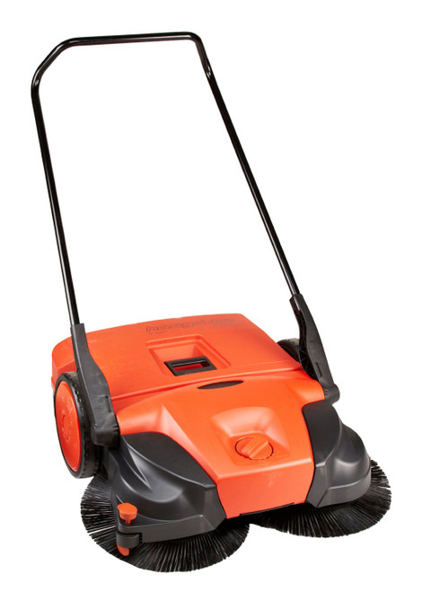 """Bissell Battery Powered Triple Brush 38"""" Sweeper"""