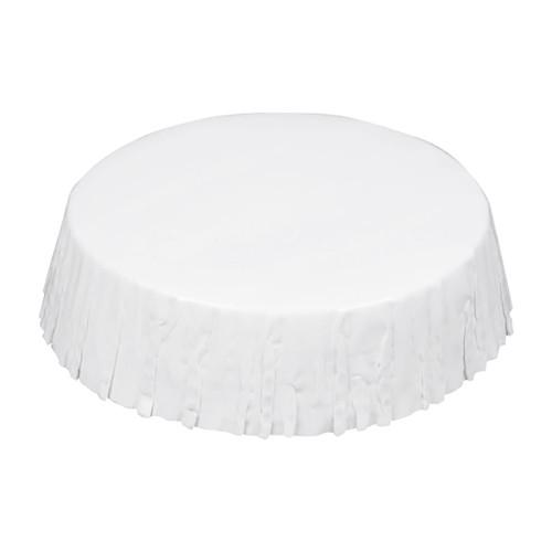 Stan Cap Hotel Paper Glass Covers, White