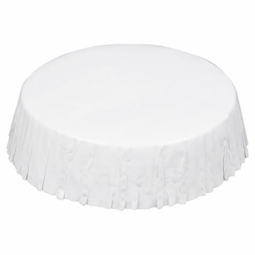 Stan Cap Hotel Amenities Paper Glassware Covers, White
