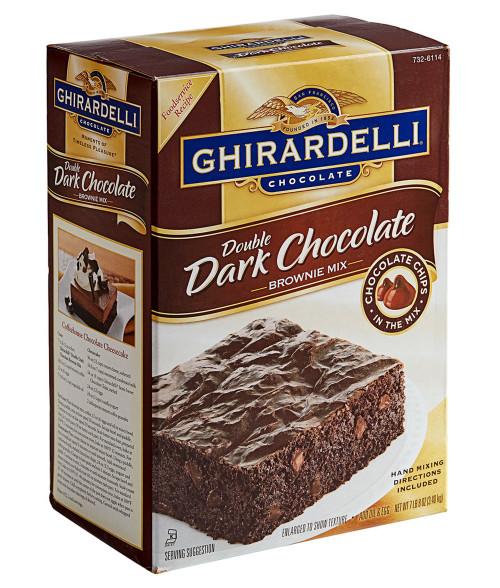 Ghirardelli Brownie Double Dark Chocolate Brownie Mix