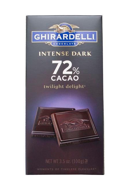 Ghirardelli Intense Dark 72% cacao Twilight Delight Bar